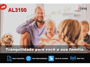Central de Alarme Sem Fio WiFi iLinq AL3100 (sem sensores)