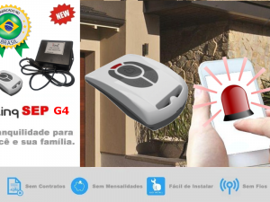 Sistema de Emergência Pessoal – Botão de Pânico Via Internet WiFi Sem Mensalidade